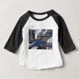 Camiseta Para Bebê Infra-estrutura, construções e encanamento