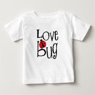 Camiseta Para Bebê Inseto do amor