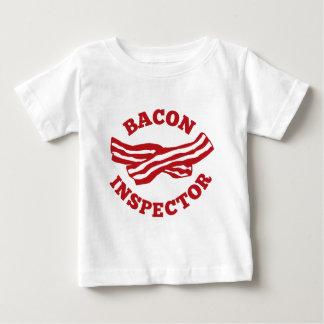 Camiseta Para Bebê Inspector do bacon