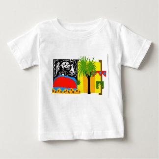 Camiseta Para Bebê Interior/Uluru - t'shirt do bebê