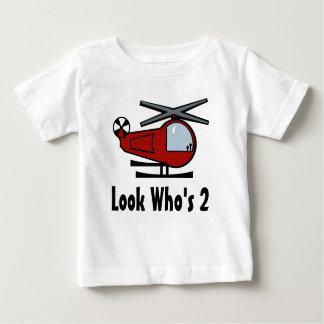 Camiseta Para Bebê Interruptor inversor de Lil do helicóptero