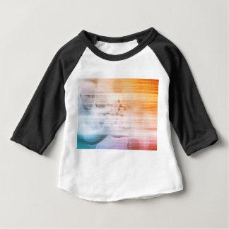 Camiseta Para Bebê Investigação e desenvolvimento com doutor Visão