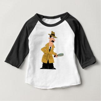 Camiseta Para Bebê investigador dos desenhos animados yeah