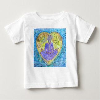 Camiseta Para Bebê Ioga