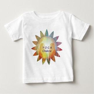Camiseta Para Bebê Ioga Chakra