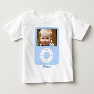 Camiseta Para Bebê iPood com foto