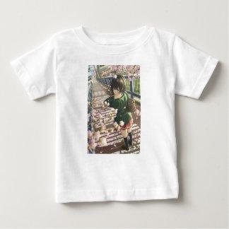 Camiseta Para Bebê Ir à escola