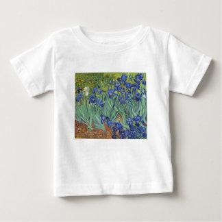 Camiseta Para Bebê Íris azuis