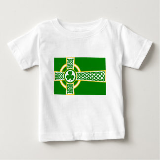 Camiseta Para Bebê Irish_Celtic_Cross