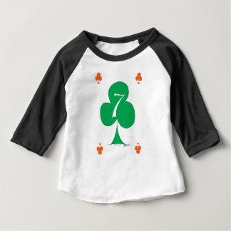 Camiseta Para Bebê Irlandês afortunado 7 dos clubes, fernandes tony