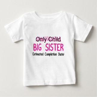 Camiseta Para Bebê Irmã mais velha