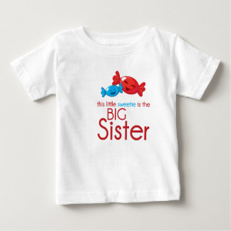Camiseta Para Bebê Irmã mais velha do t-shirt