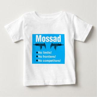 Camiseta Para Bebê Israelita Mossad, o melhor e agência de