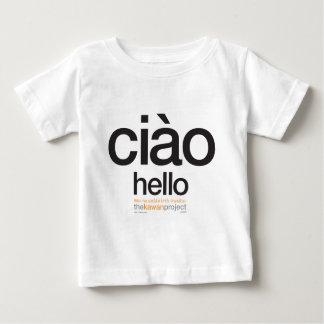 Camiseta Para Bebê Italiano  