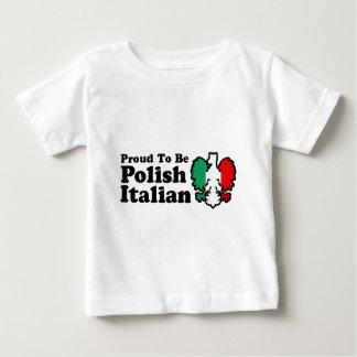 Camiseta Para Bebê Italiano polonês