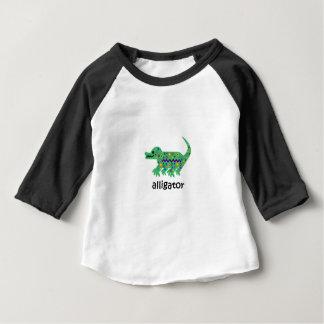 Camiseta Para Bebê Jacaré