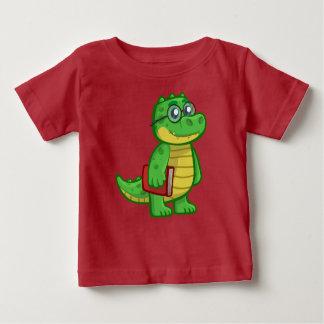 Camiseta Para Bebê Jacaré esperto
