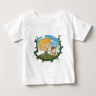 Camiseta Para Bebê Jack e o Beanstalk