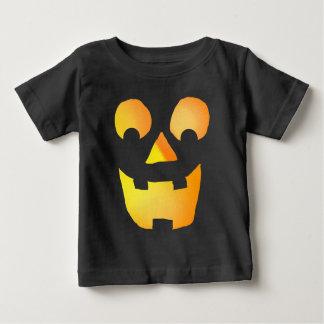 Camiseta Para Bebê Jackolantern de incandescência enfrenta 0920