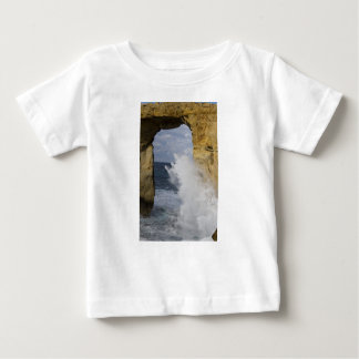 Camiseta Para Bebê Janela Azure