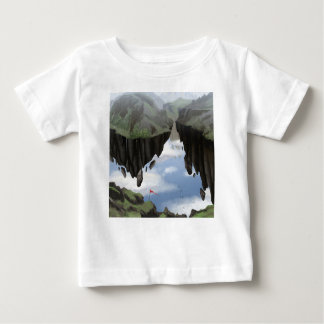 Camiseta Para Bebê Jardim dos deuses