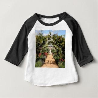 Camiseta Para Bebê Jardim inglês velho