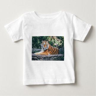 Camiseta Para Bebê Jardim zoológico selvagem dos animais selvagens do
