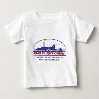 Camiseta Para Bebê Jato do grupo de vôo do EMS