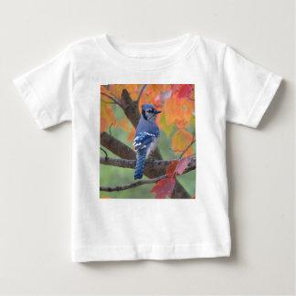 Camiseta Para Bebê Jay azul