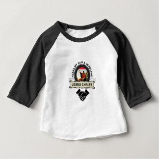 Camiseta Para Bebê Jc ouve a queixa das almas