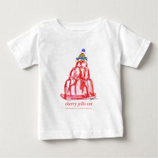 Camiseta Para Bebê jello da cereja dos fernandes tony