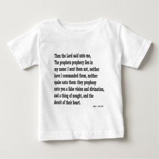 Camiseta Para Bebê Jer. 14:14