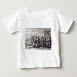 Camiseta Para Bebê Jesus confronta 12 apóstolos