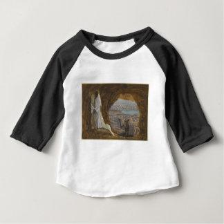 Camiseta Para Bebê Jesus tentou na região selvagem