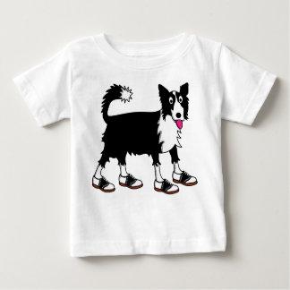 Camiseta Para Bebê Jett border collie
