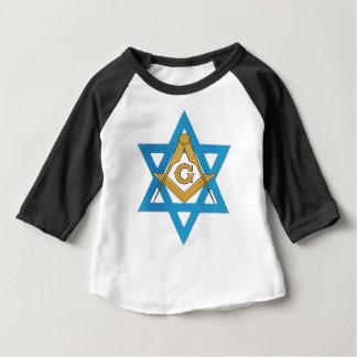 Camiseta Para Bebê jewishmason