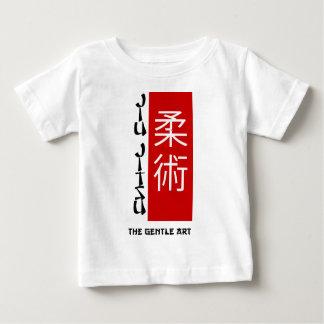 Camiseta Para Bebê Jiu Jitsu - a arte delicada