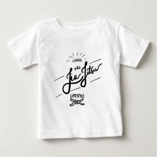 Camiseta Para Bebê Jiu-JItsu-estilo de vida