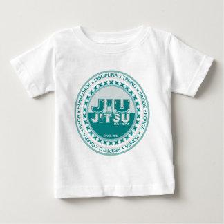 Camiseta Para Bebê Jiu Jitsu - Respeito - Treino e Disciplina by BJJH