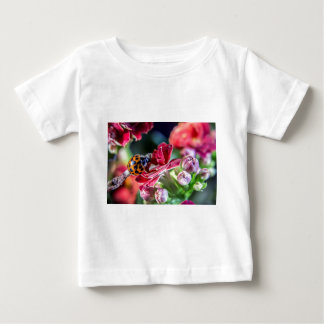 Camiseta Para Bebê Joaninha