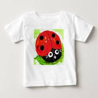 Camiseta Para Bebê Joaninha ambos os lados, Bugly a borboleta,