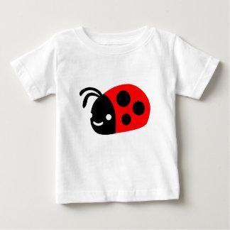 Camiseta Para Bebê Joaninha bonito