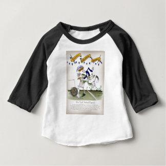 Camiseta Para Bebê jogador de futebol escocês da esquerda