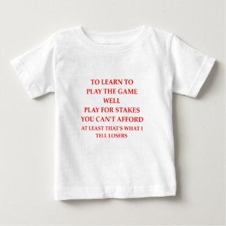 Camiseta Para Bebê jogador do jogo
