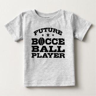 Camiseta Para Bebê Jogador futuro da bola de Bocce
