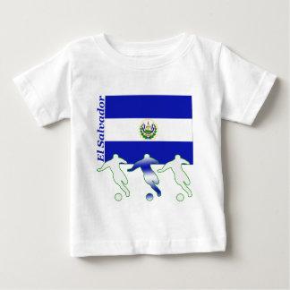 Camiseta Para Bebê Jogadores de futebol - El Salvador