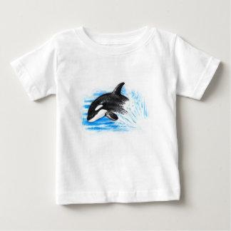 Camiseta Para Bebê Jogo da orca