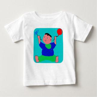Camiseta Para Bebê Jogo de Pino do bebê