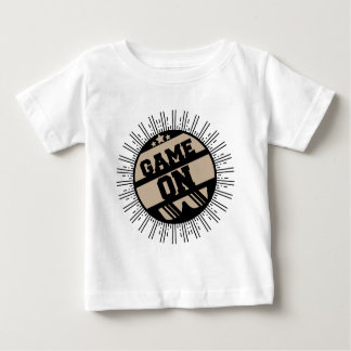 Camiseta Para Bebê Jogo sobre