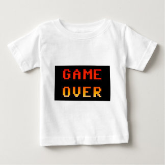Camiseta Para Bebê Jogo sobre 8bit retro